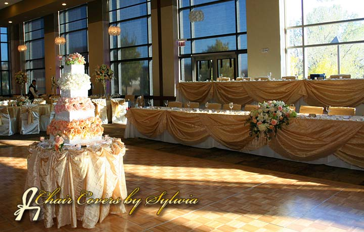 Image Gallery - Chair Cover and Linen Rental Examples for Chicago